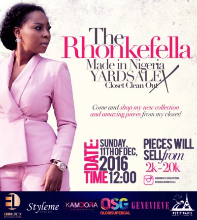 The Rhonkefella Made in Nigeria Yardsale
