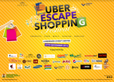 THE UBER ESCAPE SHOPPING FESTIVAL