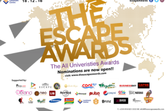 #THEESCAPEAWARDS 2016