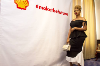 Yemi Alade partners shell