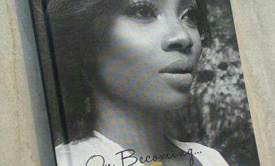 Toke Makinwa's on becoming book cover