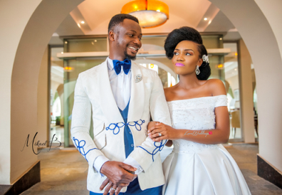 Emma oh my God and Yetunde Shode's wedding