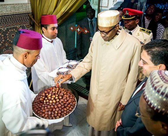 President Buhari in Morocco