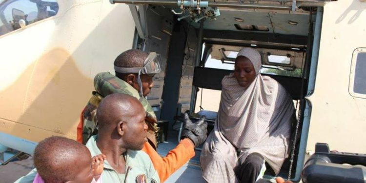 Chibok girl Maryam