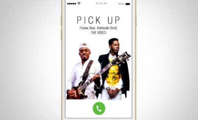 FIOKEE FT ADEKUNLE GOLD - PICK UP (GUITAR COVER)