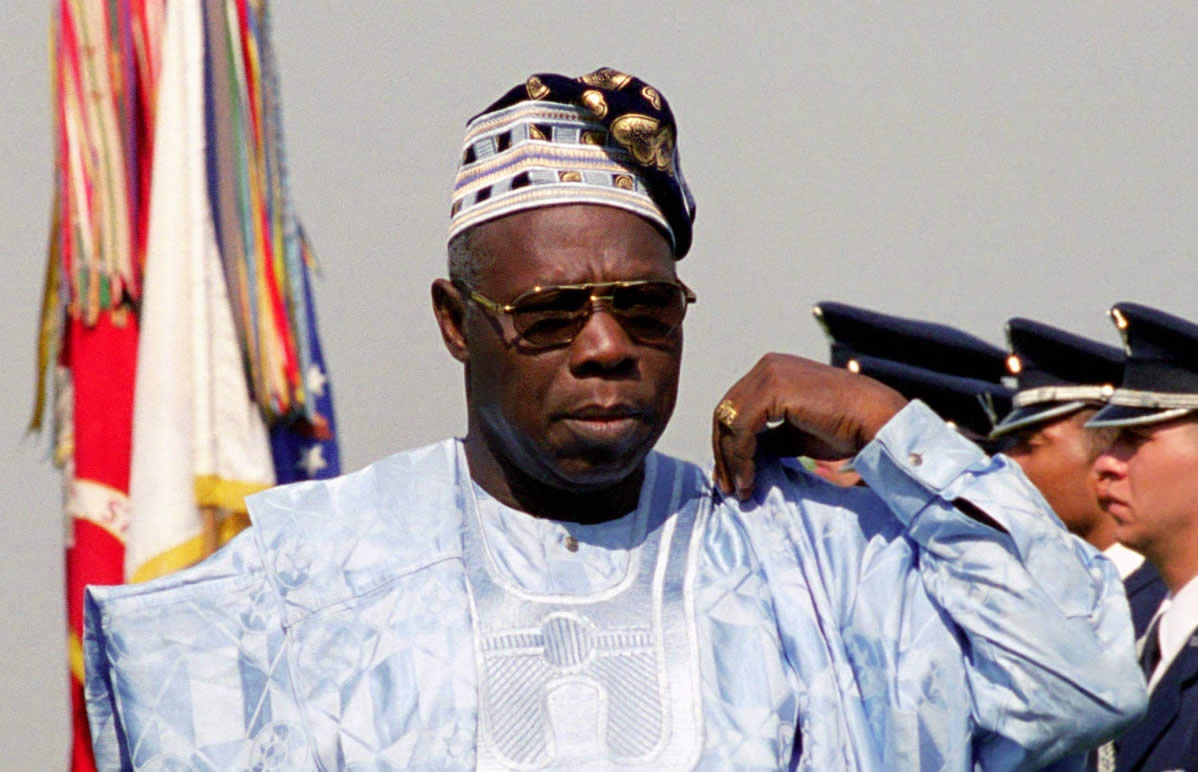 Image result for president olusegun obasanjo