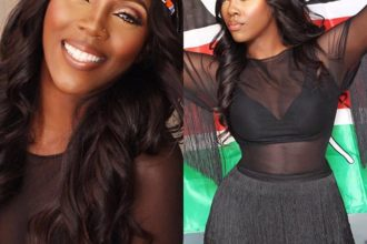 Hot Mom Tiwa Savage sold out at the Kenya Show