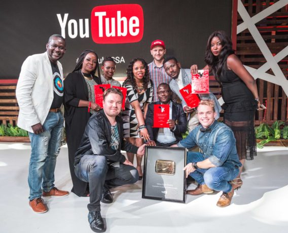 Celebrating Creativity and Talent at the YouTube Africa Creator awards