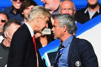 arsene wenger vs jose mourinho
