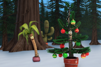 "NICKELODEON PREMIERES ORIGINAL TV ANIMATED MOVIE ""ALBERT FOR THE HOLIDAYS"""