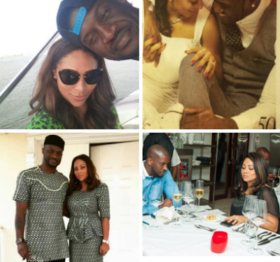 Peter Okoye and wife Lola Omotayo