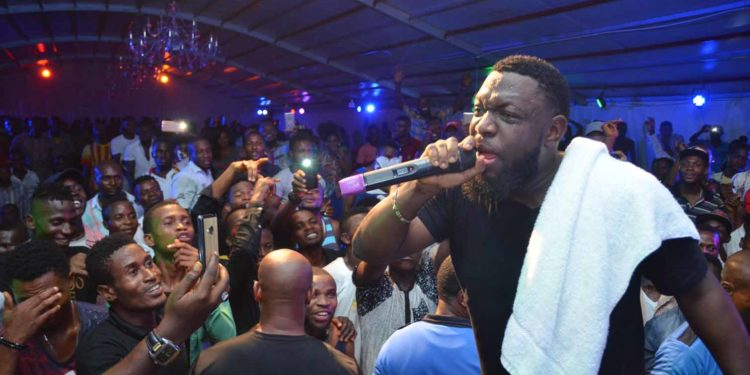 Timaya Celebrated His Birthday With Fans At Legend Real Deal Experience In Enugu