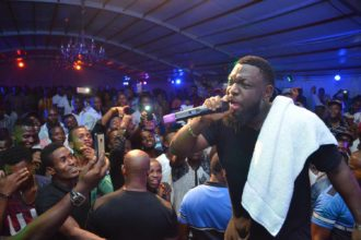 Photos: How Timaya Celebrated His Birthday With Fans At Legend Real Deal Experience In Enugu