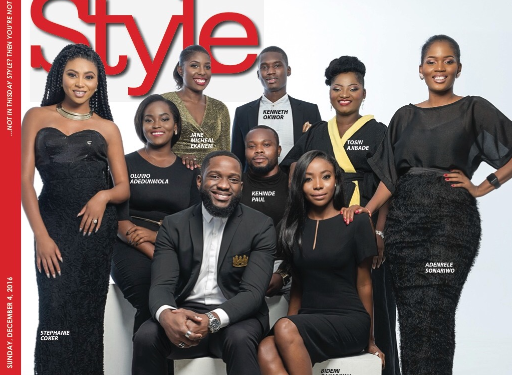 The Future Awards Africa 2016 nominees on ThisDay Style cover