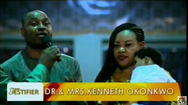 Nollywood Actor Kenneth Okonkwo and Wife Shares Testimony At Shiloh 2016