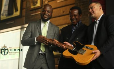 King Sunny Ade Becomes First Nigerian Musician To Join Hard Rock's Iconic Memorabilia Collection
