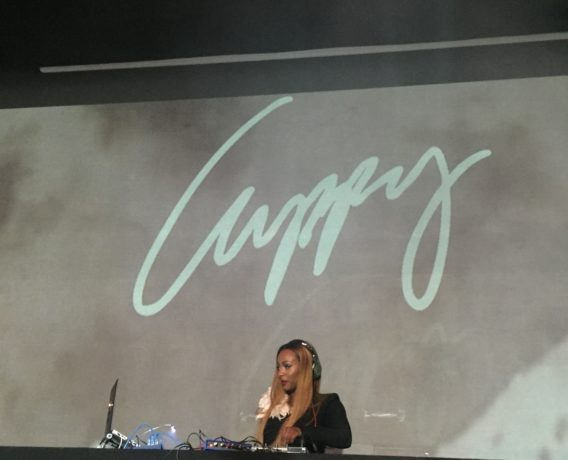 Watch DJ Cuppy Plays at Elton John AIDS Foundation
