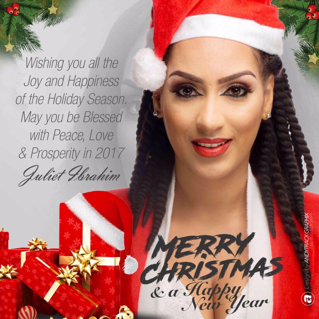 Juliet Ibrahim's Season's Greetings