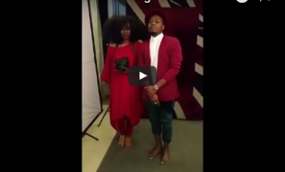 Video: Olamide and TY Bello Goes Photoshoot