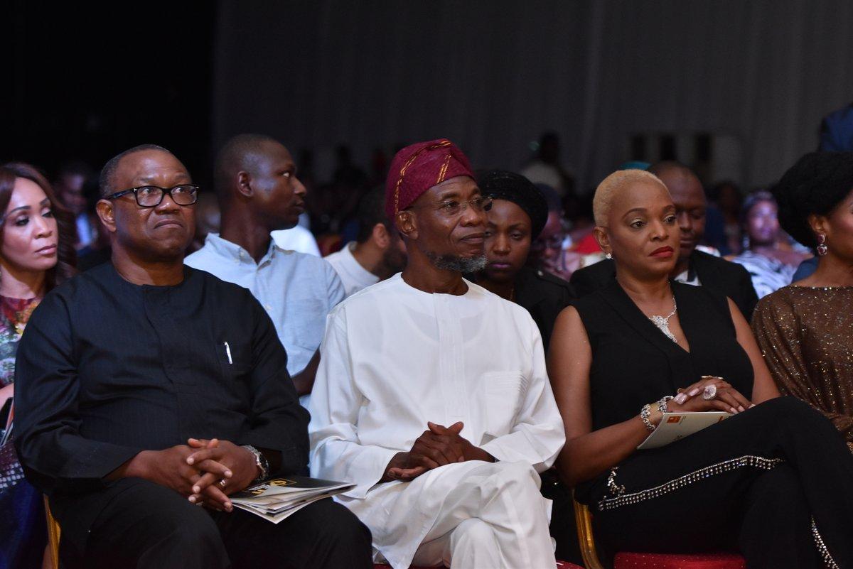 Peter Obi, Adebola Williams and Ruth Osime