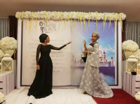 Photos From Zahra Buhari's Wedding Ball