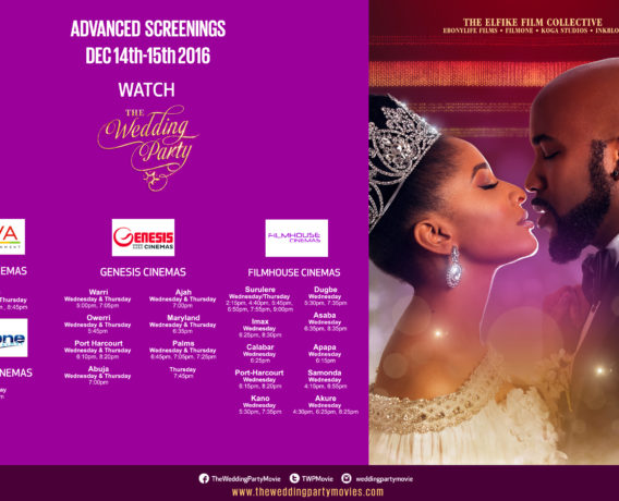 Advance Screening Tickets For 'The Wedding Party' On Sale Now