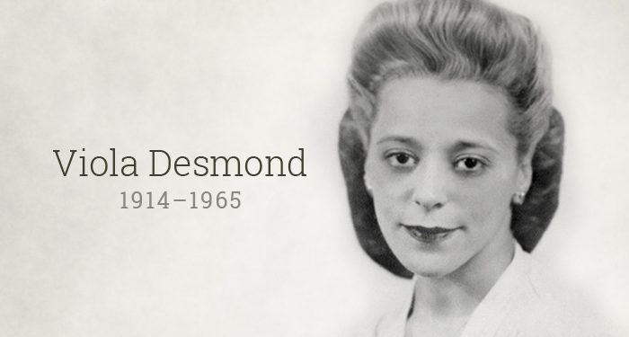 Viola Desmond the first black woman to grace canadian currency note