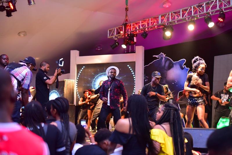 Falz on stage