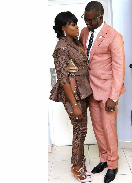 Actress Funke Akindele And Hubby JJC Skills