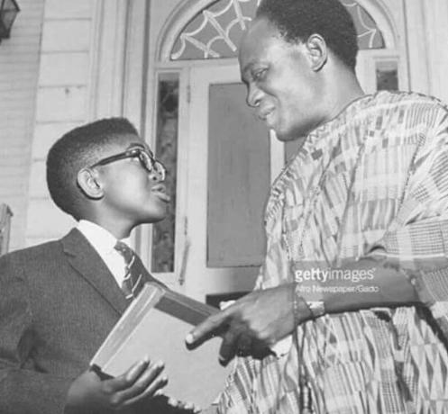Anna Akufo-Addo and Kwameh Nkrumah