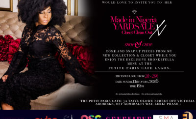 The Rhonkefella Made in Nigeria Yardsale x Closet Clean Out!