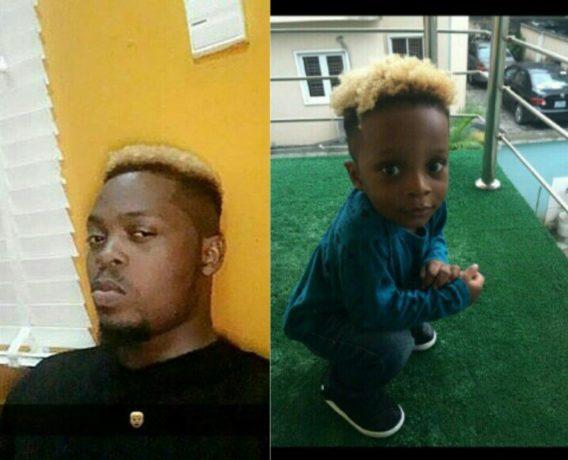 Why I Dye My Son's Hair -Olamide