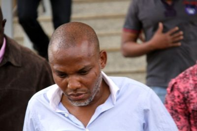 Nnamdi Kanu Denied Bail By The Federal High Court