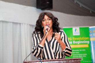 Omotola Becomes Brand Ambassador for NLPGA