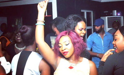 A Lagos girl dancing