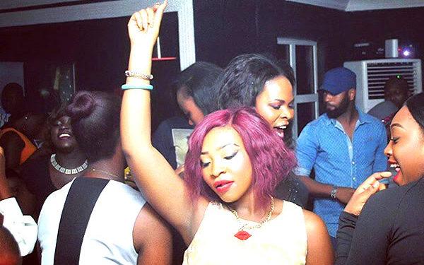 A Lagos girl dancing