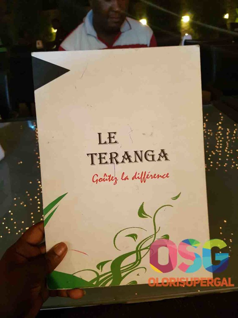 DINNER AT The Teranga Restaurant, Haie Vive, Cotonou - Benin