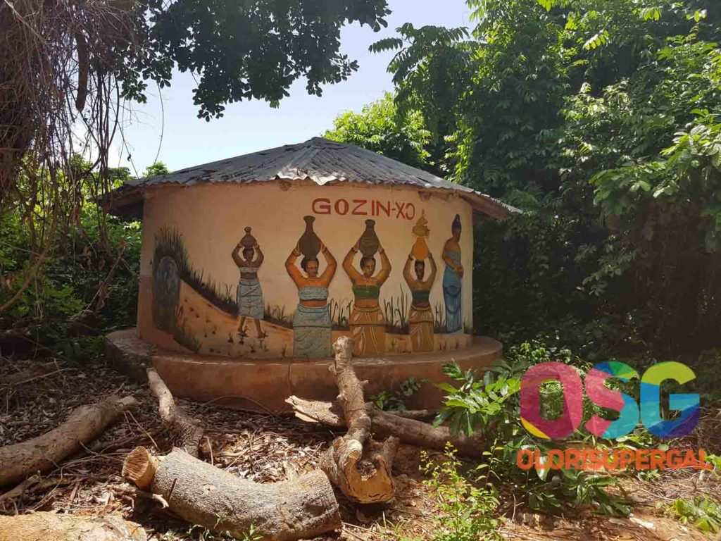 THE SACRED FOREST IN OUIDAH, BENIN REPUBLIC