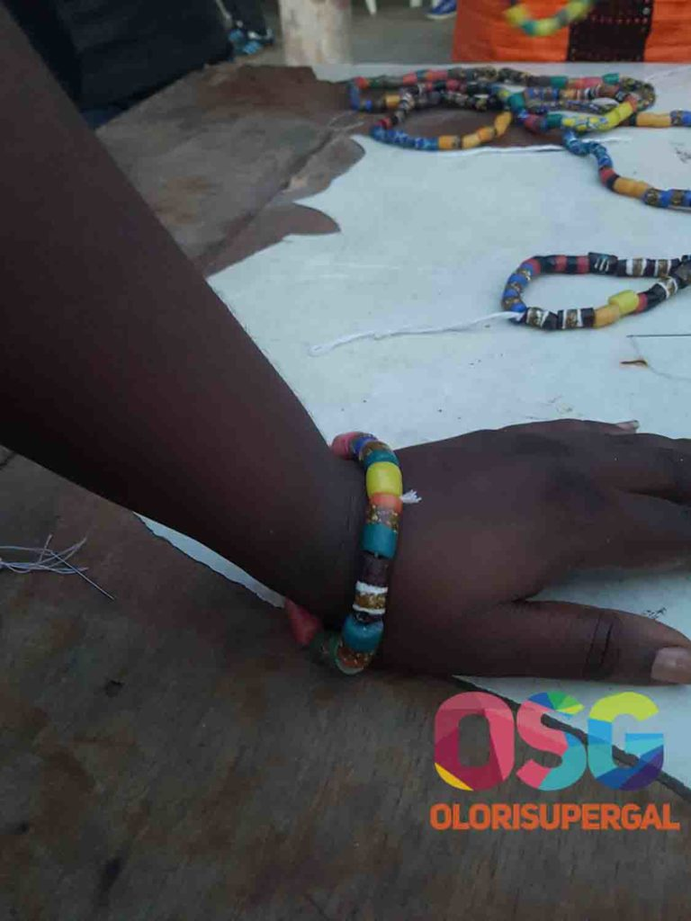 At the craft village in benin republic