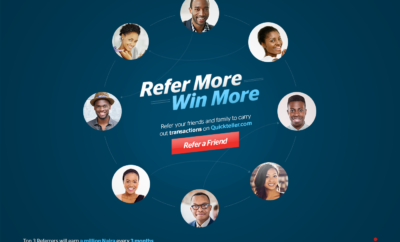 quickteller-refer a friend
