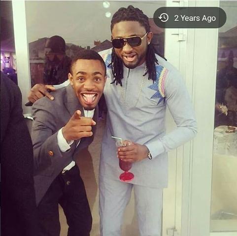 Woli Arole with Uti Nwachukwu