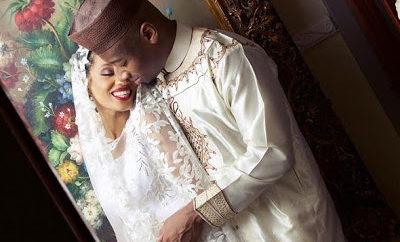 Di'ja and her husband