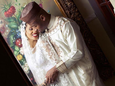 Di'ja and her husband