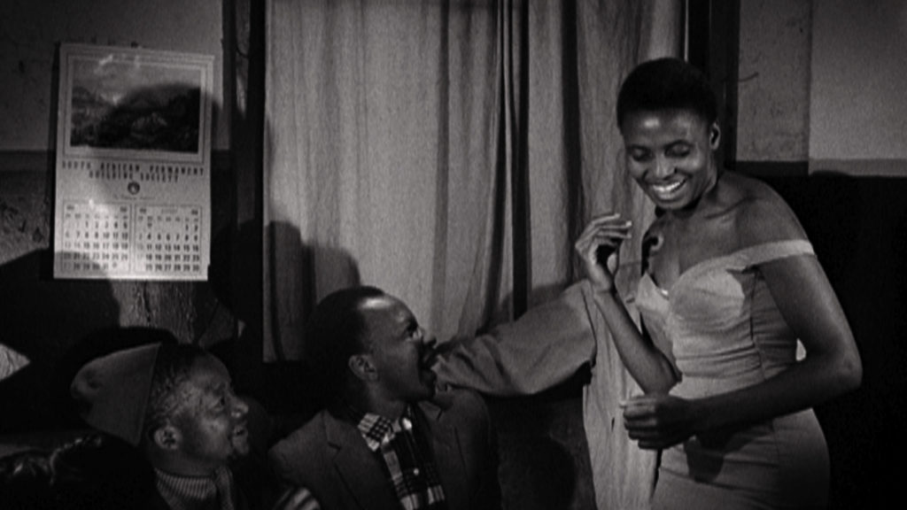 Miriam Makeba performs in the film_Come BackAfrica_by Lionel Rogosin in 1960