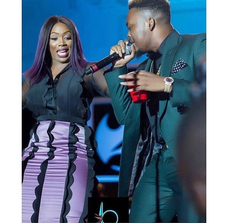 Tiwa Savage and Olamide