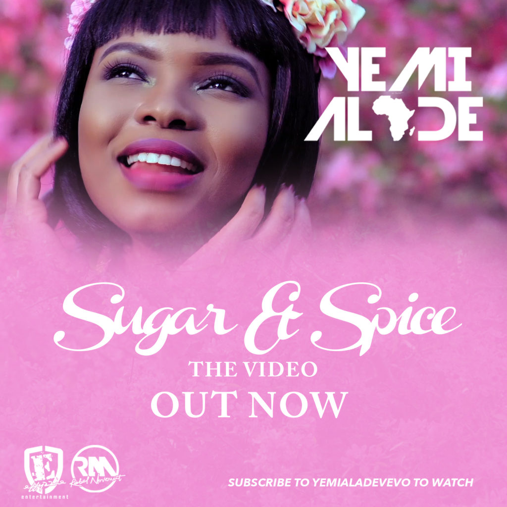 Yemi Alade - Sugar n Spice [Video Poster] (2)