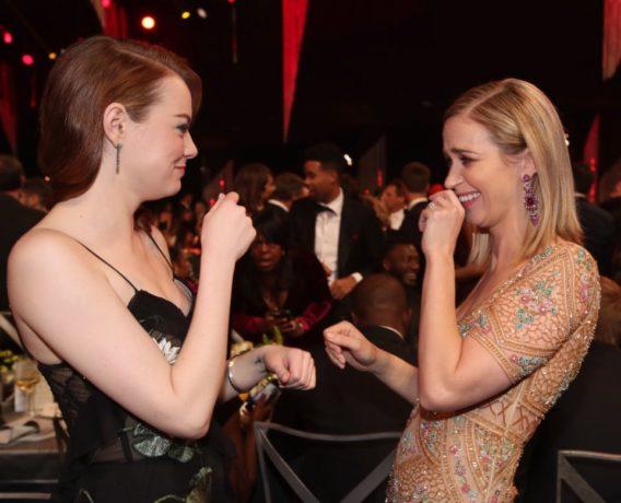 Emily Blunt & Emma Stone
