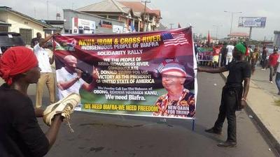Biafra Clash