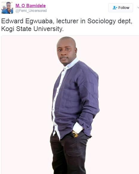 Kogi State University Lecturer