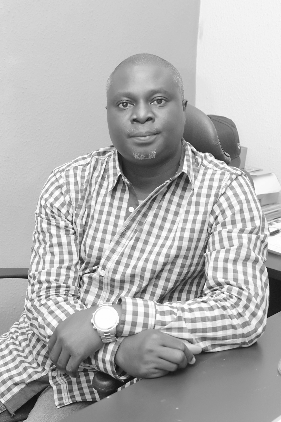 Mr. Biodun Caston-Dada, the Publisher/ Editor-in-Chief, Acada Magazine